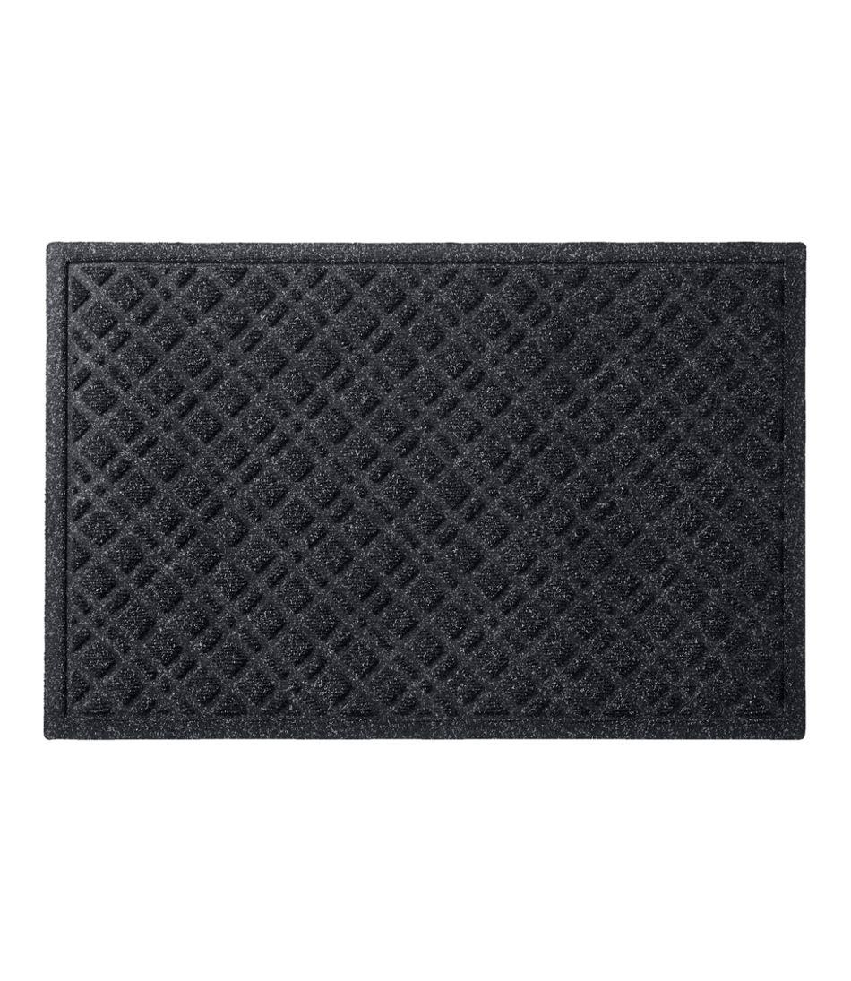 Heavyweight Recycled Waterhog Doormat, Plaid