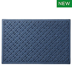 Heavyweight Recycled Waterhog Doormat, Plaid