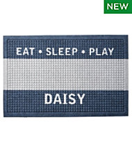 Everyspace Recycled Waterhog Dog Feeding Mat, Personalized