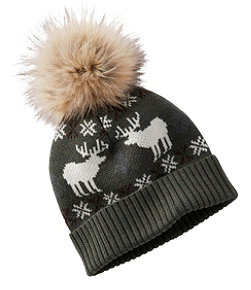 Women's Signature Knit Pom Hat