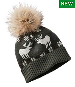 Signature Knit Pom Hat