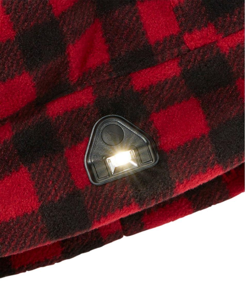 L.L.Bean Pathfinder Lighted Beanie, Plaid