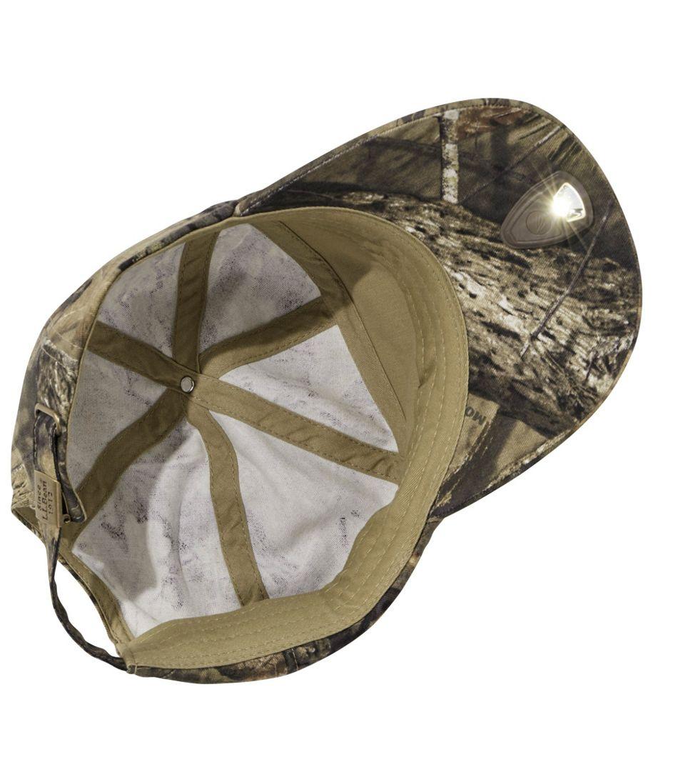 Men's L.L.Bean Pathfinder LED Cap, Camo