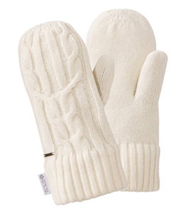 Women's Heritage Wool Windproof Mittens
