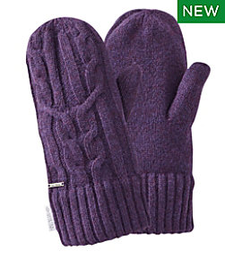Heritage Wool Windproof Mittens