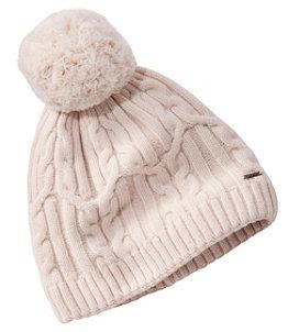 Women's Heritage Wool Windproof Pom Hat