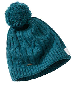 Women's Heritage Wool Windproof Pom Hat