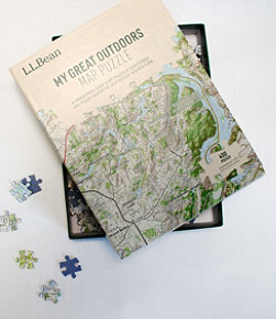 My Great Outdoors Map Puzzle