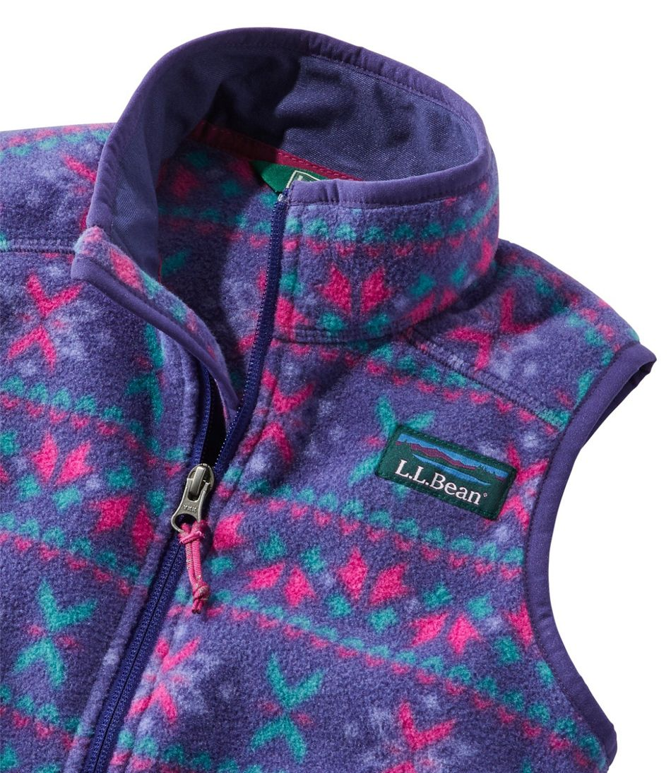Kids' Mountain Classic Fleece Vest, Print