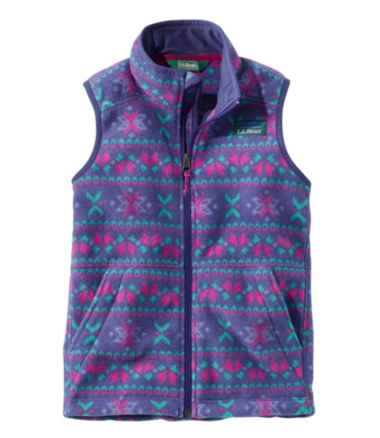 Kids' Mountain Classic Fleece Vest, Print