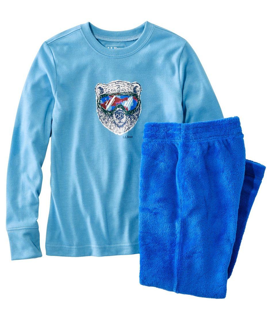 Kids' L.L.Bean Cozy Fleece Pajamas