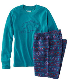 Kids' L.L.Bean Flannel Pajamas