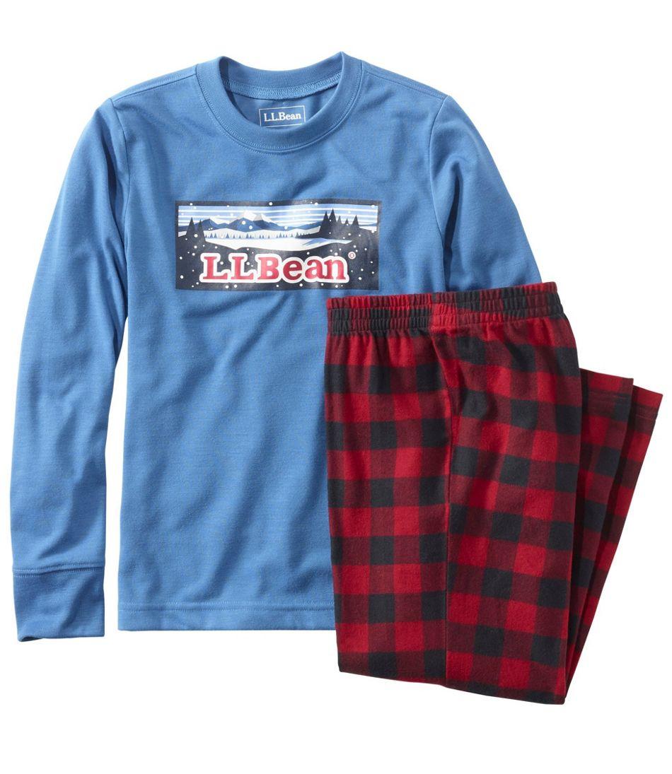 Kids' L.L.Bean Flannel Pajamas