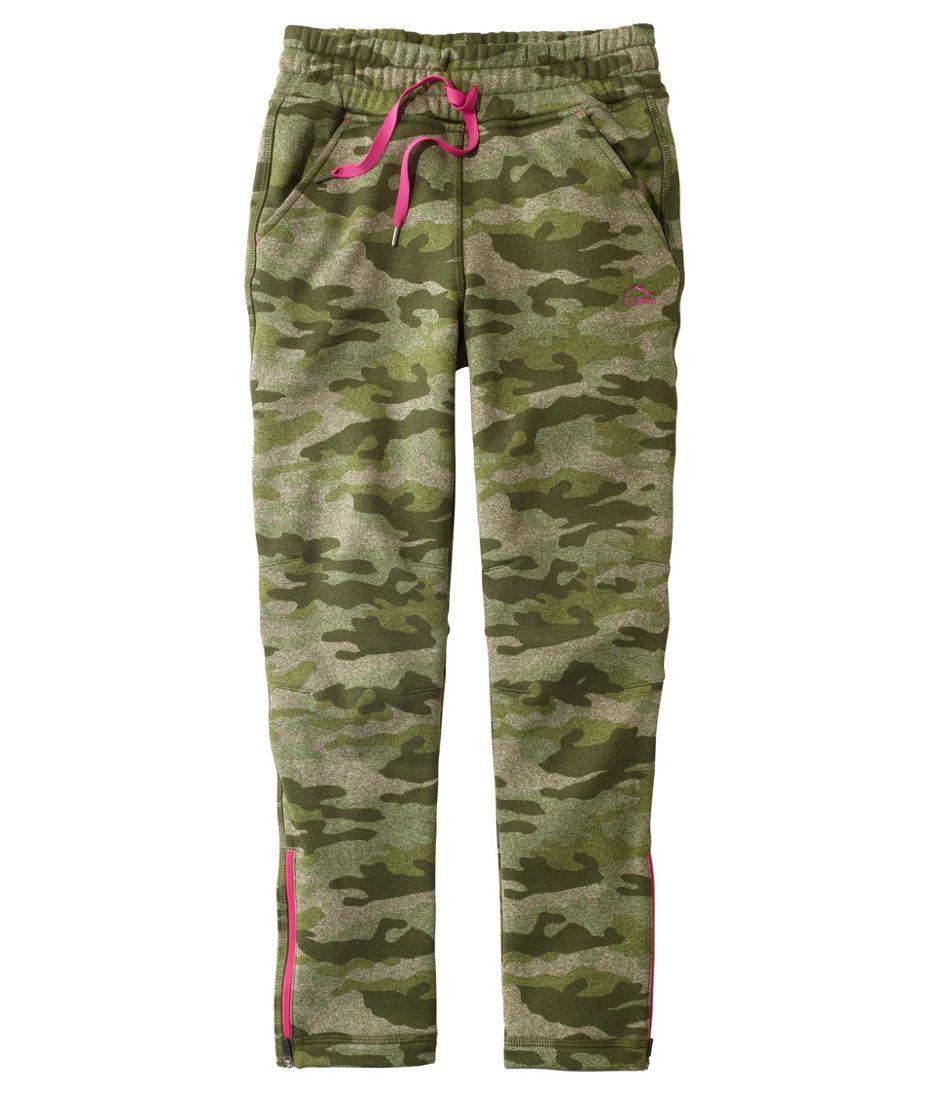 Girls' Mountain Fleece Pants, Print