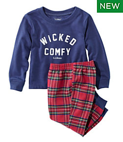 Toddlers' L.L.Bean Flannel Pajamas