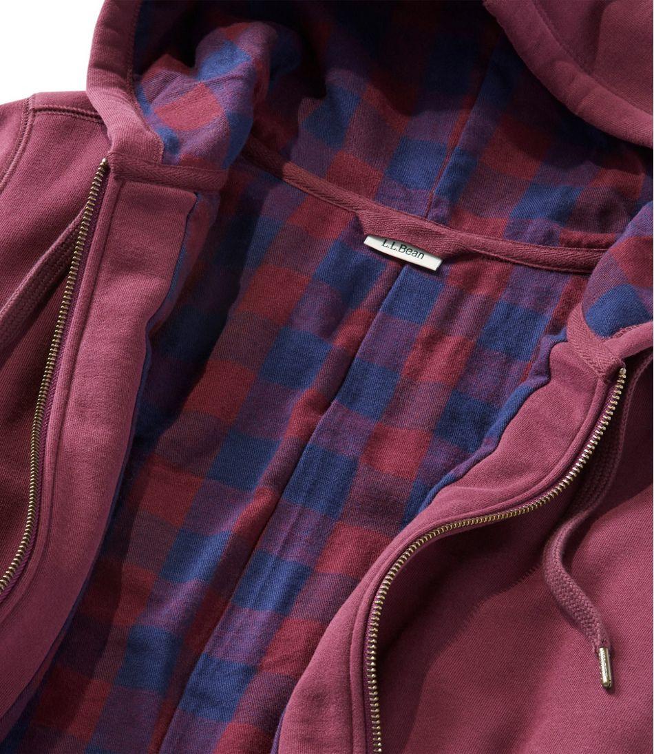 Bean's Flannel-Lined Hoodie
