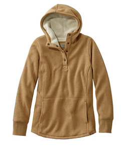 Women's Katahdin Iron Works Fleece-Backed Waffle Pullover