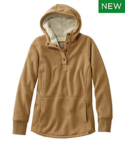 Katahdin Iron Works Fleece-Backed Waffle Pullover