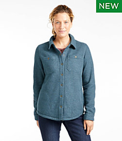 Katahdin Iron Works Fleece-Backed Waffle Shirt-Jac