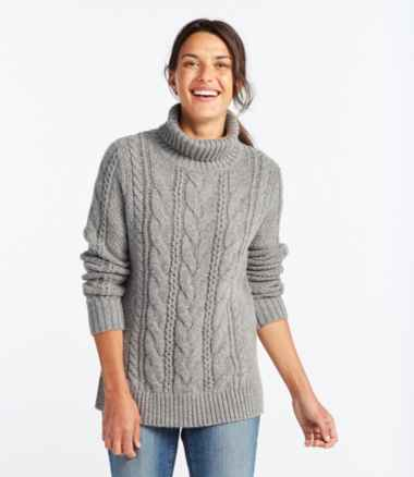 Heritage Sweater, Cable Pullover