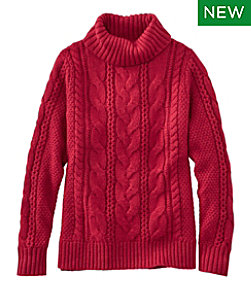 Women's Heritage Sweater, Cable Pullover