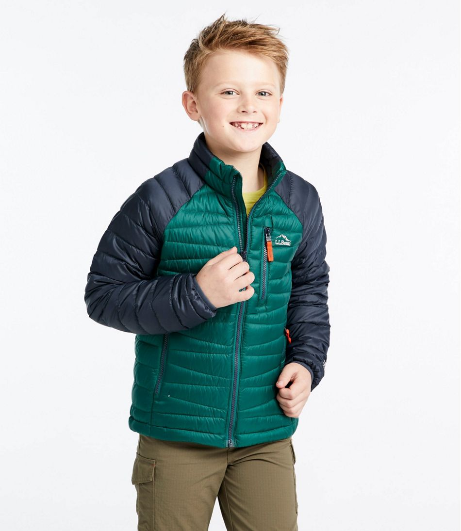 Kids' Ultralight 650 Down Sweater, Colorblock