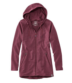 Women's L.L.Bean Cozy Full-Zip Hooded Sweatshirt