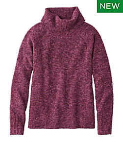 Women's Soft Bouclé Sweater, Pullover