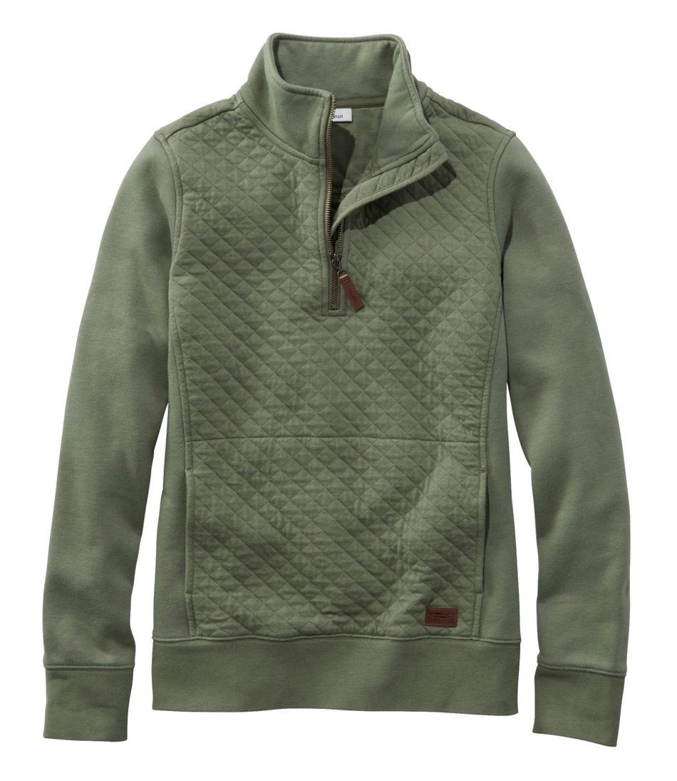 Women's Quilted Quarter-Zip Pullover