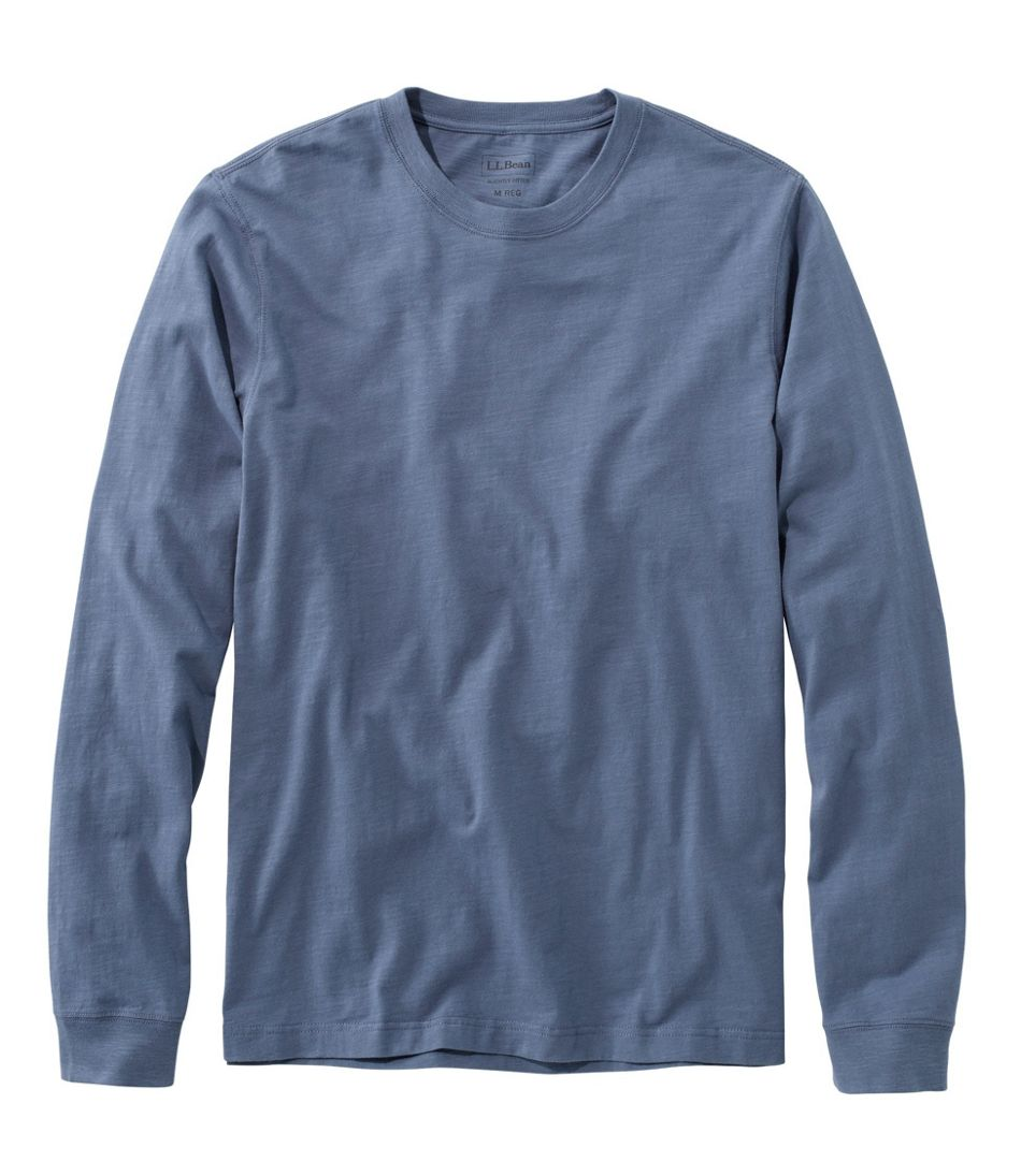 Lakewashed® Organic Cotton Tee, Long-Sleeve
