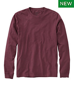 Lakewashed Organic Cotton Tee, Long-Sleeve