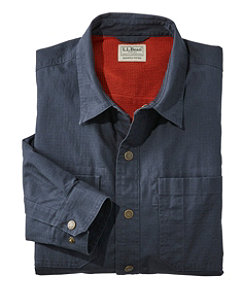 Men's Katahdin Iron Works Ripstop Shirt, Lined