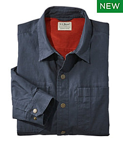 Katahdin Iron Works Ripstop Shirt, Lined