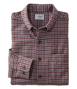 Men's Wicked Good Flannel Shirt, Slightly Fitted, Houndstooth
