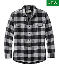 Organic Flannel Shirt, Slightly Fitted