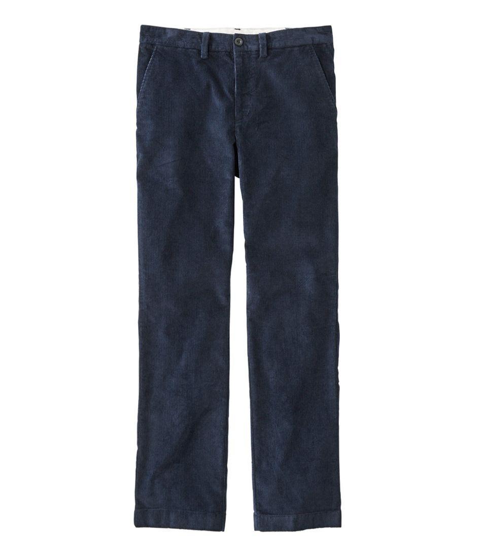 Men's L.L.Bean Stretch Country Corduroy Pants, Standard Fit, Plain-Front