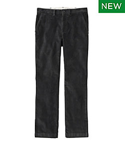 Men's L.L.Bean Stretch Country Corduroy Pants, Standard Fit, Plain-Front