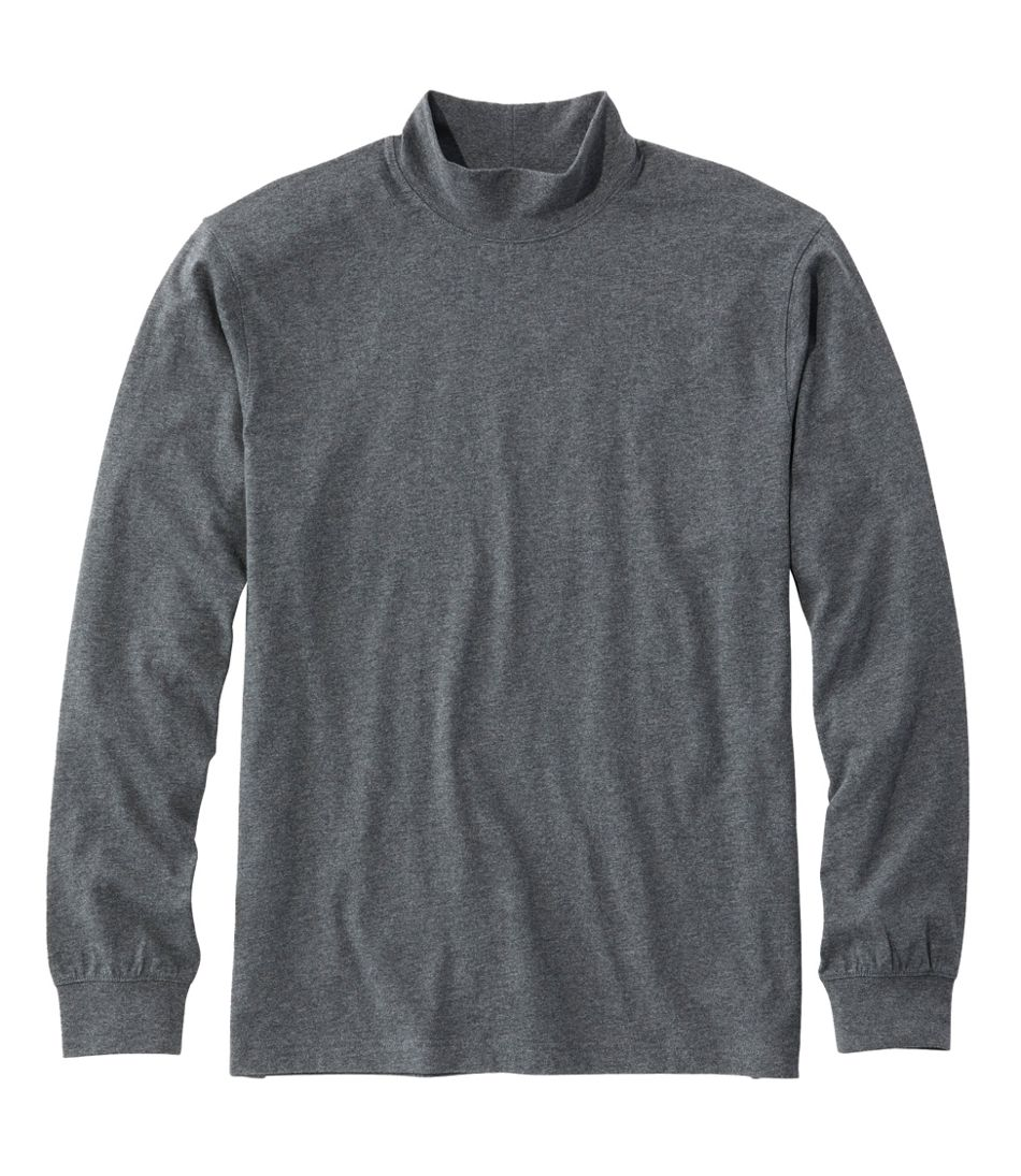 Carefree Unshrinkable Mockneck Shirt