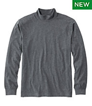 Carefree Unshrinkable Mockneck Shirt