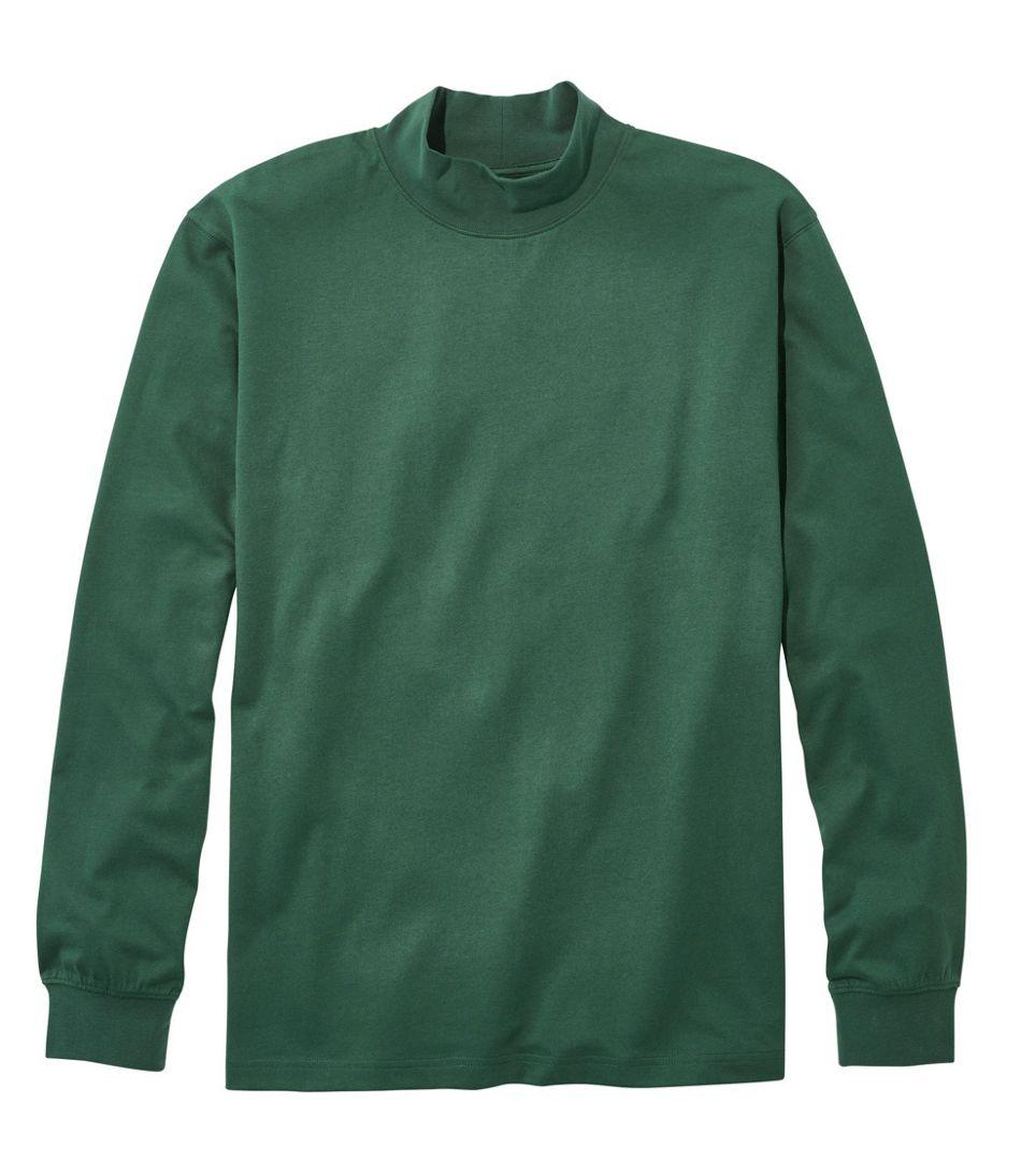Men's Carefree Unshrinkable Mockneck Shirt