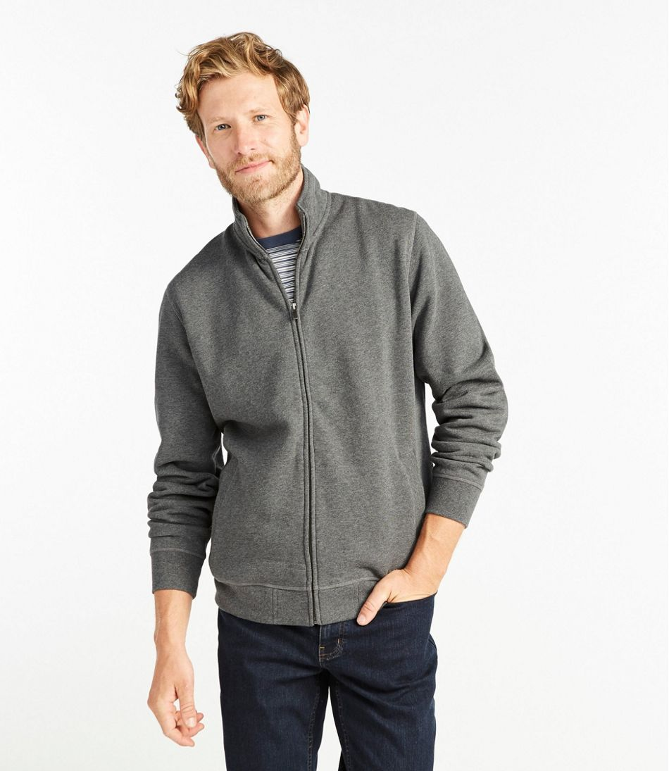 Men's Athletic Sweats, Full-Zip Sweatshirt