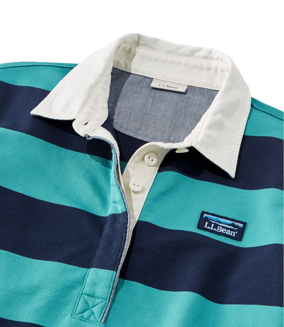 Soft Cotton Rugby, Classic Stripe