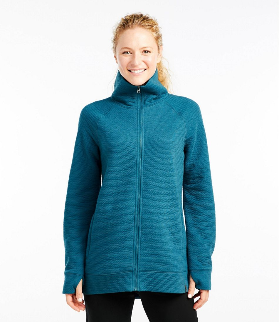 Women's Primaloft Full-Zip Mockneck Sweatshirt