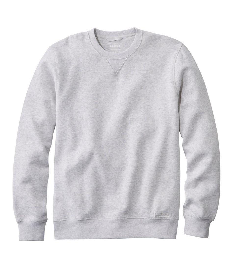 1960s Men's Clothing Mens Athletic Sweats Classic Crewneck Sweatshirt $49.95 AT vintagedancer.com