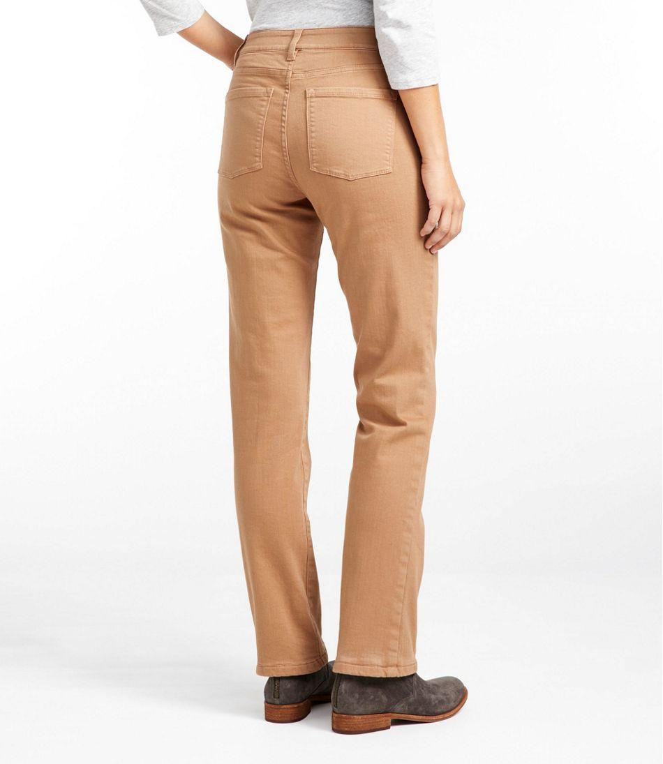 True Shape Jeans, Classic Fit Straight-Leg Fleece-Lined Colors