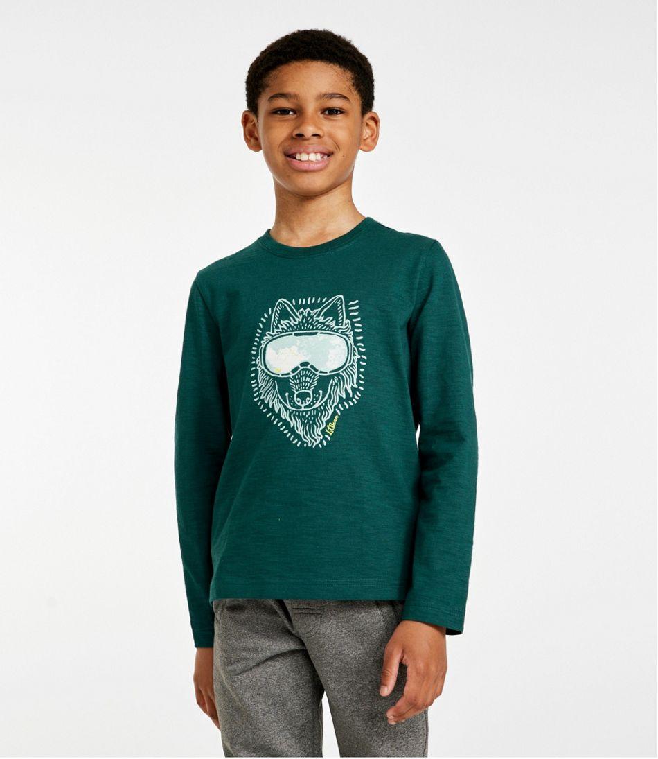 Kids' Graphic Tee, Long Sleeve, Glow -in-the-Dark