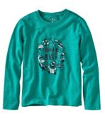 Kids' Graphic Tee, Long Sleeve, Glow -in-the-Dark