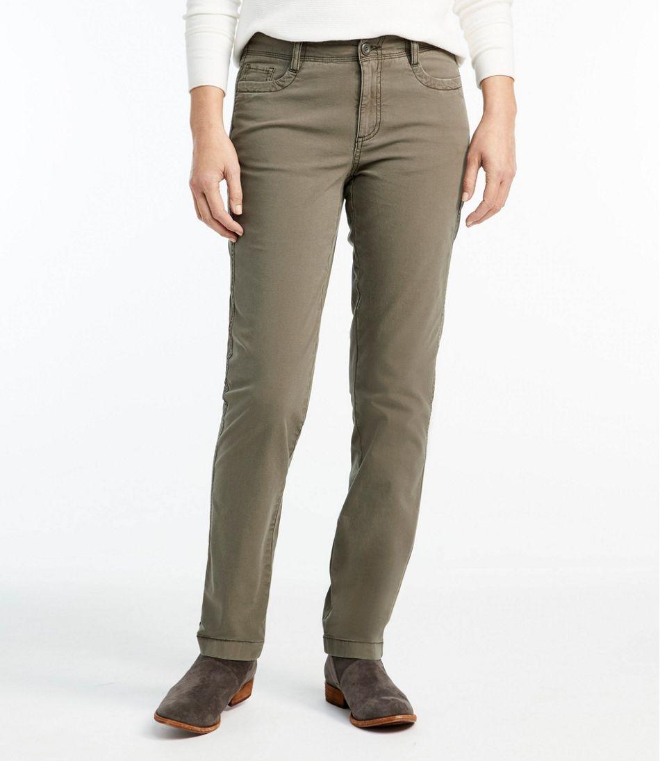Stretch Canvas Five-Pocket Pants
