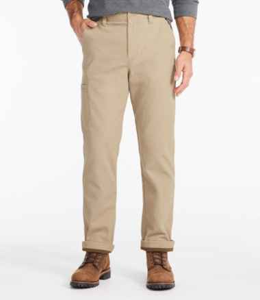 Men's Stretch Pathfinder Pants, Lined, Natural Fit