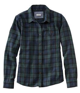 Women's Rangeley Flannel Shirt, Button-Front